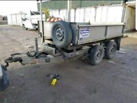 Ifor Williams 8x5 tipping trailer