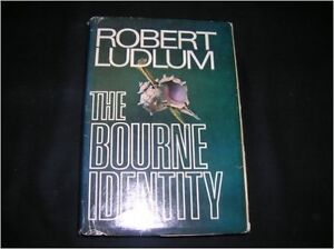 The Bourne Identity by Robert Ludlum Hardcover