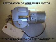 57 Chevy Wiper Motor
