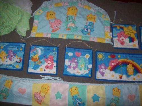Care Bear Crib Bedding Ebay