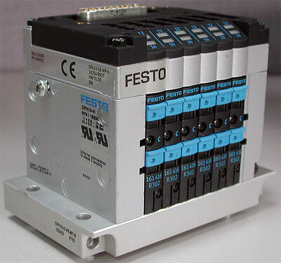 FESTO Ventilinsel CPV10-GE-MP-6 18254 CPV-10-VI 18200 6x 161414