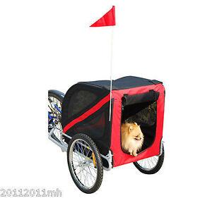 Trailer Remorque Cargo pour Velo Bicycle Pour Animaux  Neuf