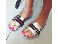 *** GORGEOUS WOMEN'S FASHION SLIDERS FOR SALE ***