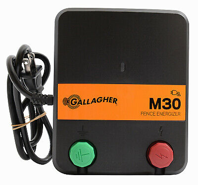 Electric Fence Charger M30 0.3 Joules 110-volt