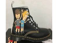 Limited edition beavis and butthead doc martens