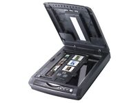 Epson Perfection 3490 Photo Colour Flatbed Scanner, Scans Negatives & Slides