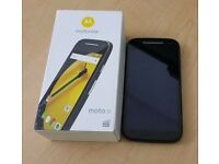 MOTOROLA E 2ND GENERATION UNLOCKED BRAND NEW CONDITION BOXED WITH WARRANTY & RECEIPT