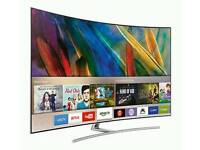 """SAMSUNG UE49MU6670 49"""" Smart 4K Ultra HD HDR Curved LED TV New model Tv like new comes with"""
