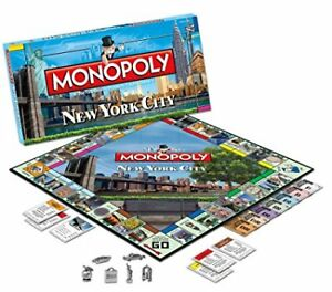 Monopoly New York City Collector's Edition BRAND NEW