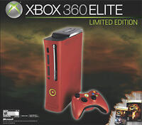 XBOX 360 RED LIMITED EDITION 120 GB
