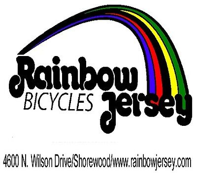 Rainbow Jersey Bicycles