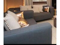 3 X Klippan sofas with BRAND NEW COVERS