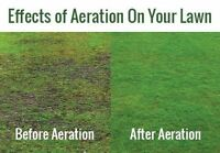 NOT TOO LATE TO AERATE