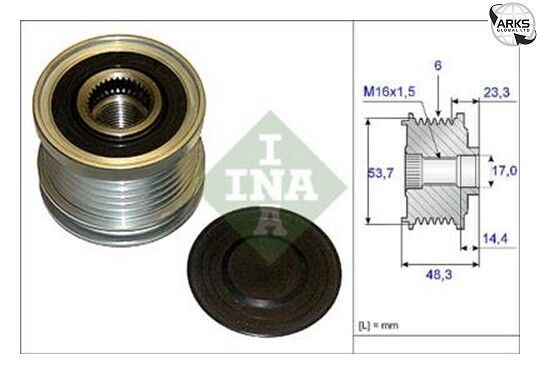 INA Over Running Alternator Pulley 535020410