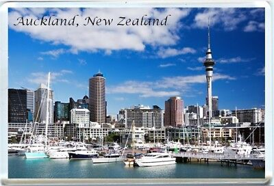 AUCKLAND, NEW ZEALAND FRIDGE MAGNET-1