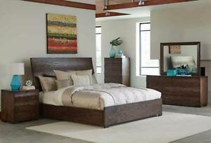 HUGE DISCOUNT ON DISCONTINUED FURNITURE-Limited Quantities - Until supply lasts -King Bed & Nightstand!