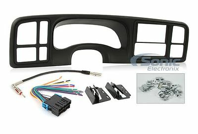 Car Stereo Installation Solution for Select 1999-02 GM Full Size Trucks & SUV's