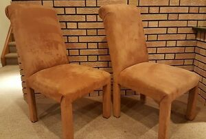 6 Parson style Dining Chair Set
