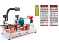 Key Cutting Machine with 2 boards 800 keys and Keyway Panel