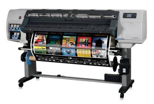 """HP L25500 60"""" PRINTER PLOTTER CAR WRAP SIGNS WITH RIP FINANCING INKS Z6100 Z6200"""