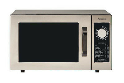 Panasonic Ne-1025f Pro Commercial Microwave Oven 1000w W Dial Timer