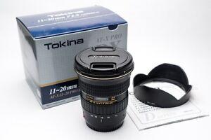 Tokina 11-20mm f/2.8 EF Canon