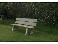Garden seat garden furniture set bench railway sleeper Summer Furniture sets Loughview Joinery