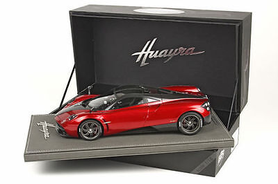BBR 2013 PAGANI HUAYRA Red/Carbon Roof Limited 50pcs 1:18 P1873F*In Stock Now!