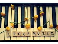 Reasonably priced piano lessons, Southside, Glasgow
