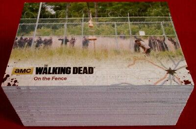 THE WALKING DEAD - Season 4, Part 2 - COMPLETE BASE SET (72 cards) - Cryptozoic
