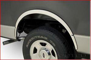 Contours d'ailes en acier Inox Ford F150 - 2004-14