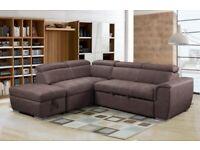 Nevada Sofa Bed – Mushroom Fabric