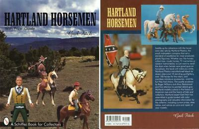 Hartland Horsemen plastic horse cowboy TV western star guide book - Gail Fitch