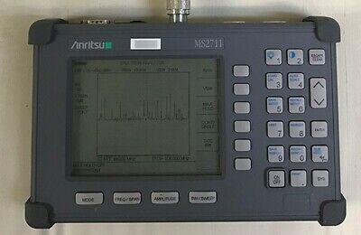 Anritsu Ms2711 3 Ghz Handheld Spectrum Analyzer