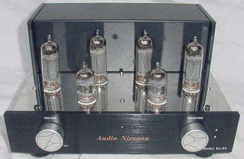 Audio Nirvana EL84 Ultralinear Vacuum Tube Stereo Amplifier
