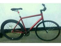 NO LOGO Red fixie on sale!