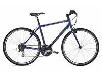 "2011 Trek 7.1 FX Hybrid Bike Navy Blue Large Frame 25"" / 63.5 cm with U-LOCK and extra lock."