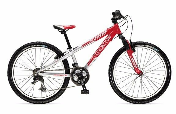 Trek MT220 alloy MTB youth boys girls small adult bike suspension ATB top quality sloping frame