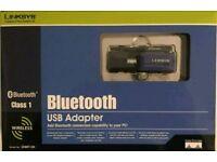 Bluetooth USB ADAPTER NEW .