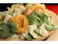 Pasta making Italian food classes with Italian native