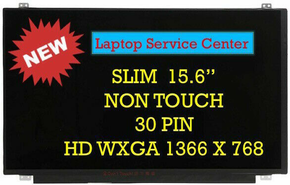 """HP PAVILION 15-AF131DX New 15.6/"""" Laptop screen LCD LED Glossy 30 Pins eDP A+"""