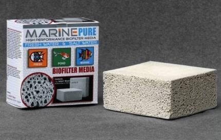 MarinePure filter spheres & 200x200x100 block w/live bacteria