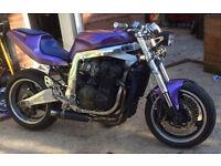 Suzuki gsxr wr 1100 Streetfighter,offers sale/swap