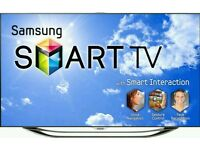 "Samsung 46"" LED smart 3D wi-fi TV builtin freeview fullhd 1080p tv"