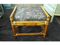 Foot stool (cane with cushion)