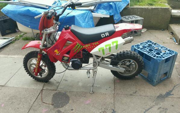 Suzuki dr 100cc dirt bike fully running quick sale make me for 100cc yamaha dirt bike