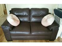 3 + 2 Seater leather sofa set