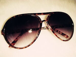 Fashion-Summer-Retro-Vintage-Women-Oversized-Leopard-Aviator-Sunglasses-Shades
