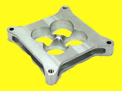 1.5 Carburetor Billet Aluminum Tapered Spacer 4150 Fits Holley Chevy Ford