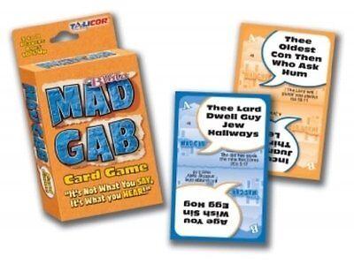 Mad Gab Card Game: Bible Edition Christian Game Night Fun By Talicor